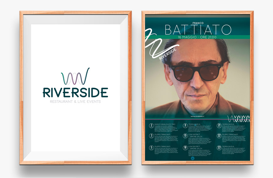 Poster Riverside